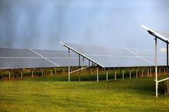 Solar Powerplant Royalty Free Stock Image
