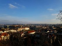 Solar-Prag Stockfoto