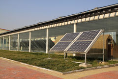 Solar products Stock Image
