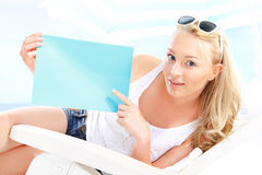 Solar promotion, holiday offer -space for your text Stock Photos