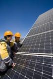 Solar publicity Stock Photo