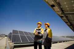 Solar publicity Stock Images