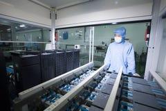 Solar R & D center Stock Photo