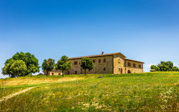 Solar renovado de tuscan foto de stock royalty free