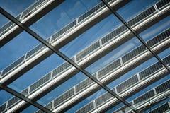 Solar roof panels Royalty Free Stock Photo