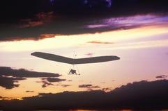 Solar Sailing Hang Gliding Royalty Free Stock Photography