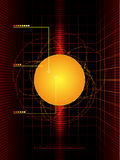 Solar science abstract Stock Photos