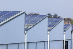 Solar Screens Building Royalty Free Stock Photos