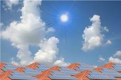 Solar. In sky Stock Photography