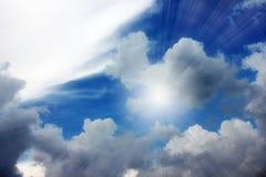 Solar sky Royalty Free Stock Photo