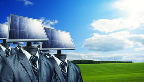 Solar solutions Royalty Free Stock Photos