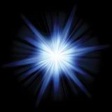 Solar Star Burst royalty free illustration