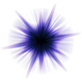 Solar Star Burst Royalty Free Stock Image
