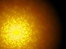 Solar stars Royalty Free Stock Photo