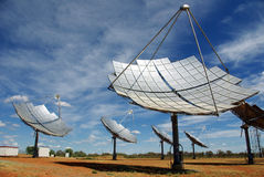 Solar station - Australia Royalty Free Stock Photos