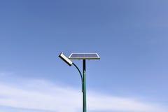 Solar street lamp Stock Photos