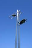 Solar street lights Stock Photography