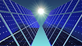 Solar and Sun Royalty Free Stock Image