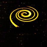Solar system. Digital art of a solar system royalty free illustration