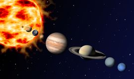 Free Solar System Royalty Free Stock Images - 13233169