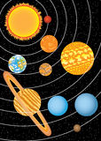 Solar system Stock Photos