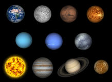 Free Solar System Royalty Free Stock Images - 8276509