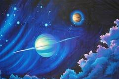 Solar system background Royalty Free Stock Photo
