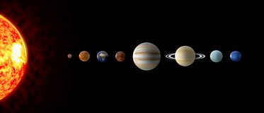 Free Solar System Planets Royalty Free Stock Image - 140810166