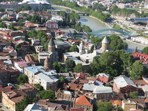 Solar Tbilisi Royalty Free Stock Images