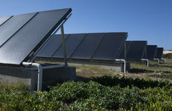 Solar thermal energy Stock Image