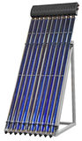 Solar Vacuum Collector Royalty Free Stock Photography