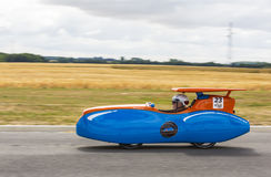 Solar Vehicle - Solar Cup 2017 Royalty Free Stock Photography