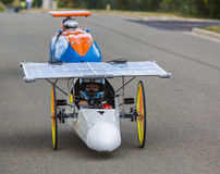 Solar Vehicle - Solar Cup 2017 Royalty Free Stock Photos