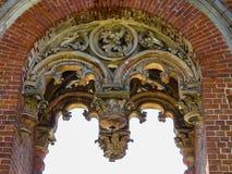 Solar velho no estilo gótico do século XVIII Imagens de Stock Royalty Free