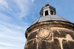 Solar watch at Koenigstein Fortress, Germany Stock Photos