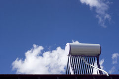 Solar water heater Royalty Free Stock Photography