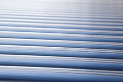 Solar water heater collector Royalty Free Stock Photo