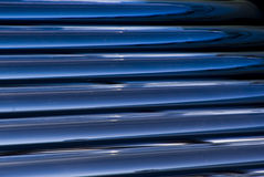 Solar Water Heater Evacuated Glass Tubes Detail. Closeup detail of the evacuated glass tubes. Solar energy, a renewable energy source for water heating royalty free stock photo