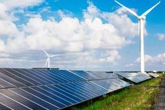 Solar and wind power. Eastphoto, tukuchina, Solar and wind power Stock Photos