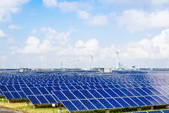 Solar and wind power. Eastphoto, tukuchina, Solar and wind power Royalty Free Stock Photography