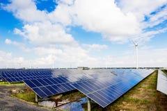 Solar and wind power. Eastphoto, tukuchina, Solar and wind power Royalty Free Stock Image