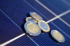 Solar yield Royalty Free Stock Photography