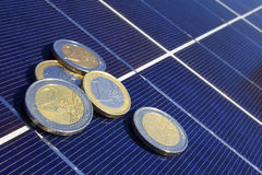 Solar yield Royalty Free Stock Photos