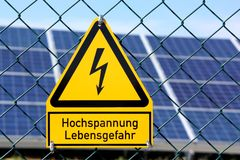 Solaranlage Stockbilder
