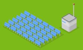 Solaranlage Lizenzfreie Stockfotografie