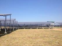 Solarbauernhof Stockbild