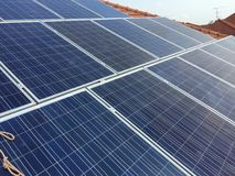 Solarcell панель стоковое фото