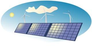 Solare illustrazione di stock