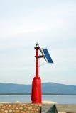 Solare marittimo del faro Immagine Stock Libera da Diritti
