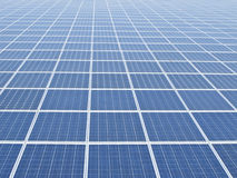 Solare panel close  up Stock Photo